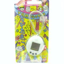 Tamagotchi Original Chibi Mini White w/blue Boxed Bandai Japan 7