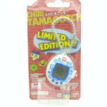 Tamagotchi Original Chibi Mini White w/blue Boxed Bandai Japan