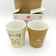 Rilakkuma 2 Cup love San-X Kawaii 8cm* 6,5cm Japan