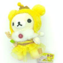 San-X Rilakkuma Bee Honey Harvest Festival Plush Doll 18cm 2