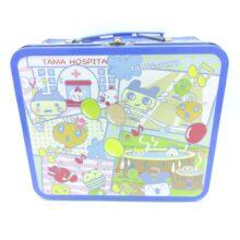 Tamagotchi Metallic Case Blue Bandai 20*17*9cm