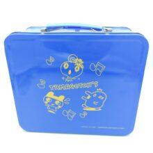 Tamagotchi Metallic Case Blue Bandai 20*17*9cm 2