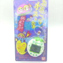Tamagotchi Osutchi Mesutchi White w/ green Bandai japan boxed