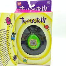 Tamagotchi Original P1/P2 Green w/ yellow Original Bandai 1997