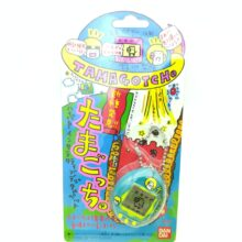 Tamagotchi Original P1/P2 Teal w/ yellow Bandai Japan 1997