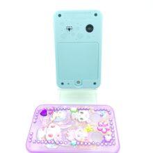 Jewelpod Crystal plus Handheld Game LCD Sanrio Sega toys blue 2