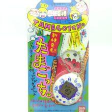 Tamagotchi Original P1/P2  White w/ blue Bandai 1997