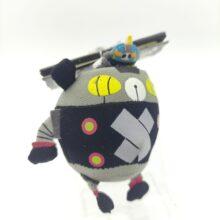 Panda-Z THE ROBONIMATION Keychain Porte clé Plush Black Ham Gear 9cm